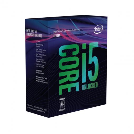 Intel Core i5-8600K 3.6 GHz Coffee Lake Processor