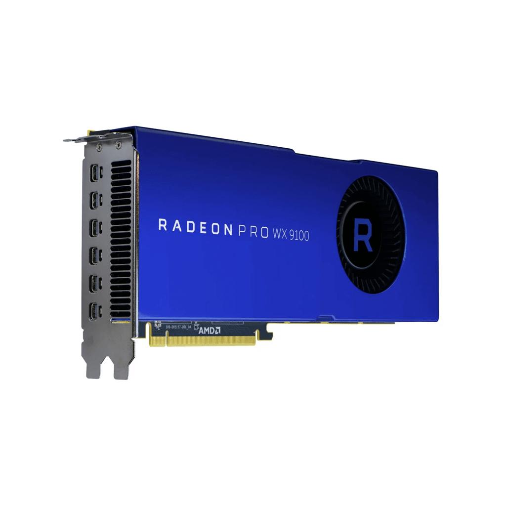 amd radeon pro wx 9100 professional graphics card 16gb