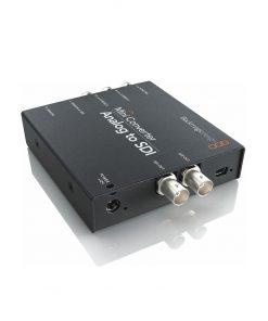 Blackmagic Mini Converter, Convert from analogue HD/SD video to SDI