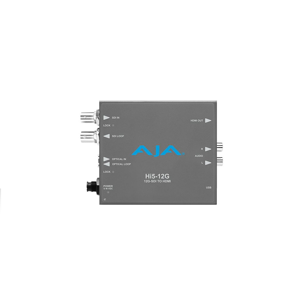 AJA Hi5-12G 12G-SDI to HDMI Converter