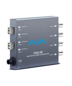 AJA FIDO-4R Quad Fiber To SDI